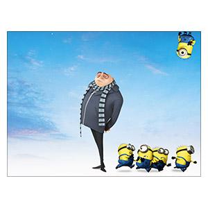 Despicable Me / Minions. Размер: 40 х 30 см